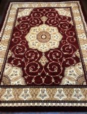 Modern Rugs Approx 9x7ft 270x220cm Woven Thick Sale Top Quality Red New Luxury
